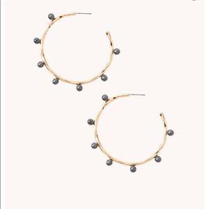 New LillyPulitzer Hoop Earrings